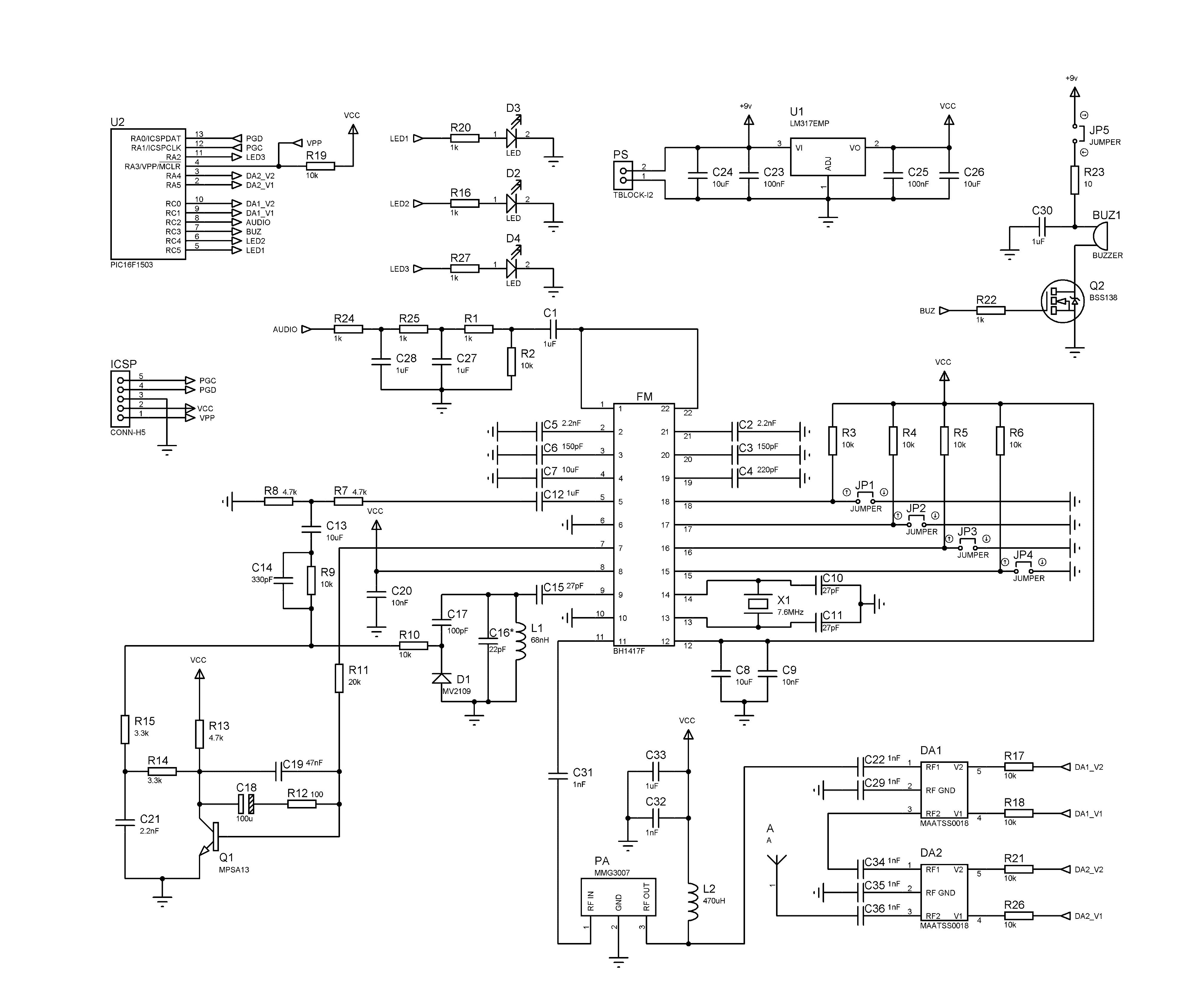 fm tracking sch