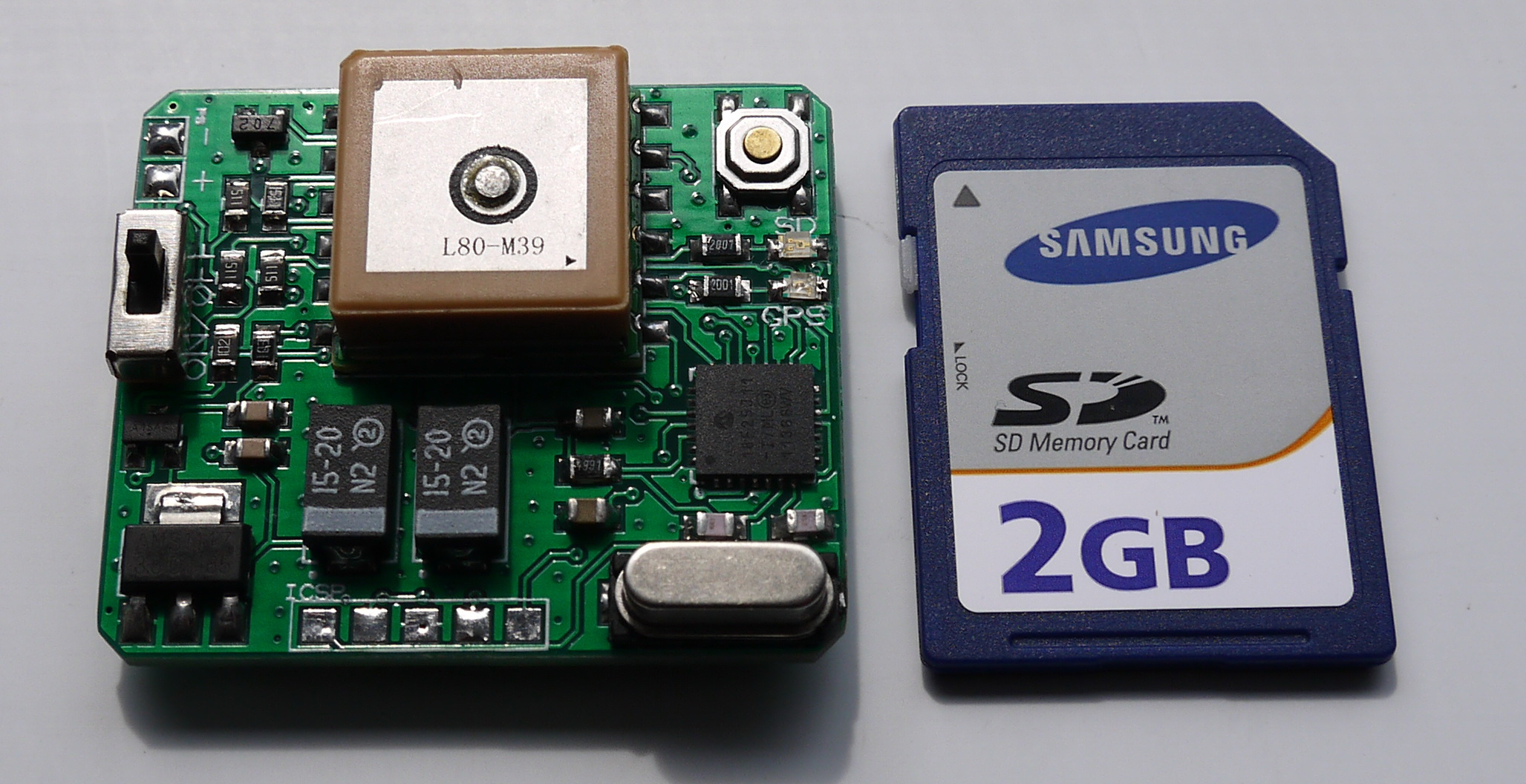how to download gps to sd card