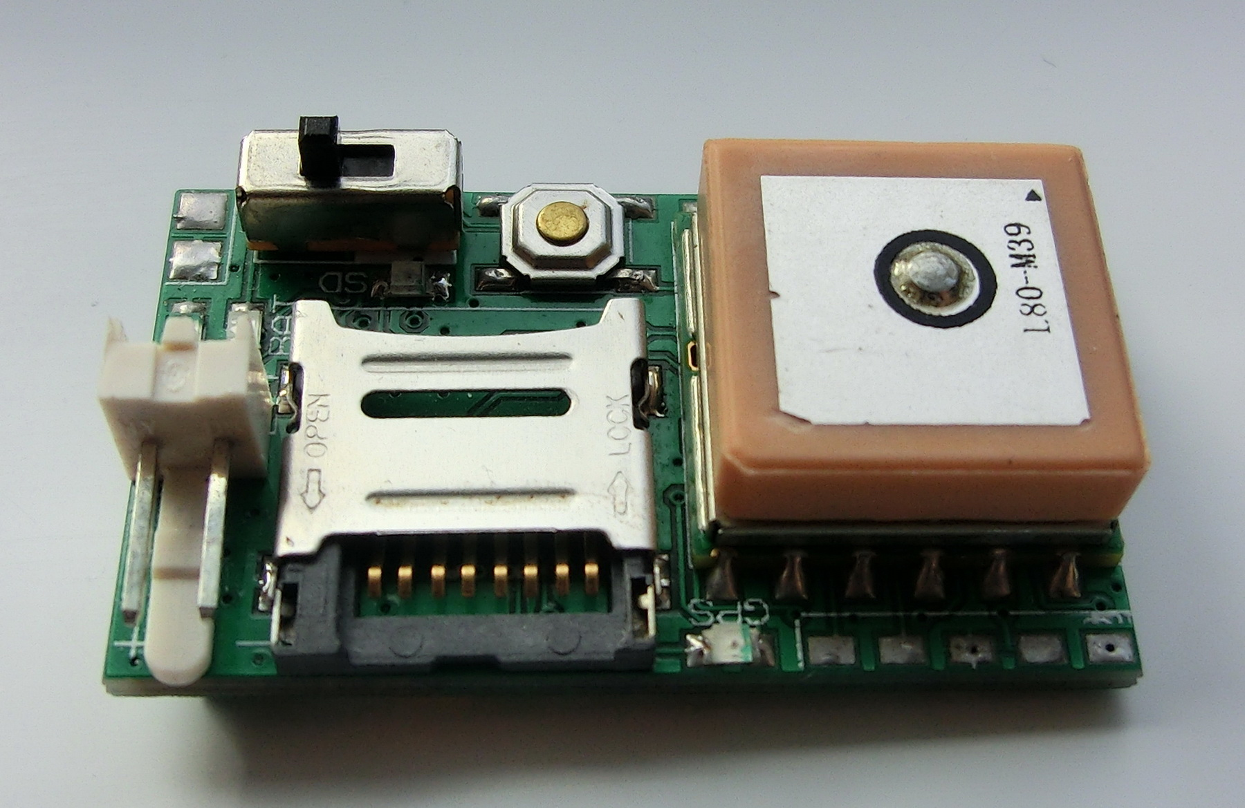 Exrockets Blog Mini Pic Gps Data Logger With Micro Sd Card And Circuit Board Using The Is Also Quite Simple