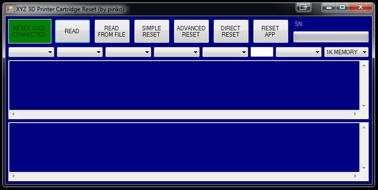 ExRockets Blog | XYZ 3D PRINTER CARTRIDGE RESET WITH PIC18F2550